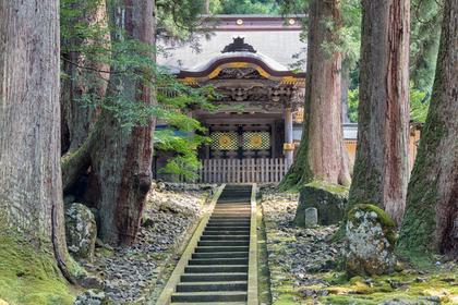 寺のある景色