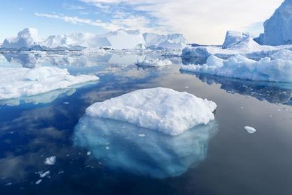 流氷の風景
